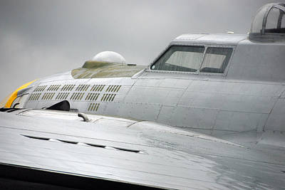 Photograph - Nose B-17 G by John Schneider
