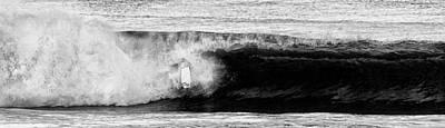 Body Surfing Photograph - Nose Dive by Ron Regalado