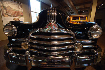 Photograph - Nose Streamliner Wagon by John Schneider