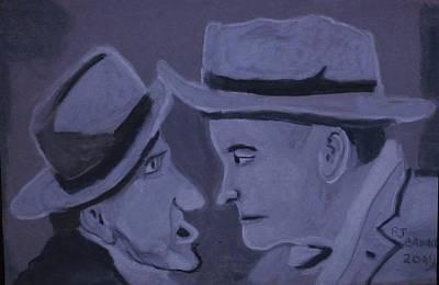 Nose To Nose Art Print