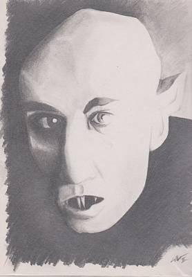 Nosferatu Art Print by Crosson Nipper