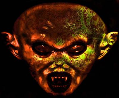 Nosferatu Digital Art - Nosferatu by Devalyn Marshall