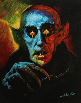 Basil Gogos Painting - Nosferatu by Diane Bombshelter