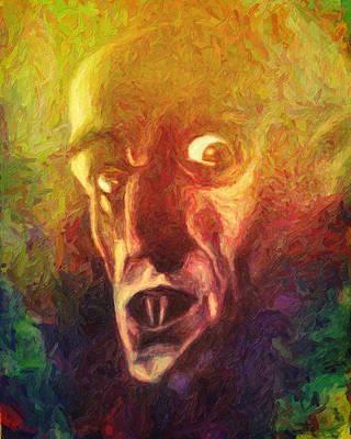 Nosferatu Art Print by Taylan Apukovska