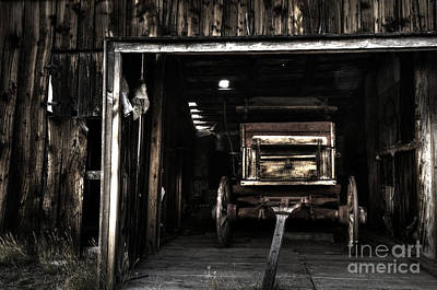 The Western Hotel Photograph - Nostalgia At Bannack Montana by Bob Christopher