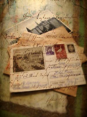 Postcard Photograph - Nostalgia by Jessica Jenney