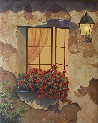 Painting - Nostalgia by Miki Karni