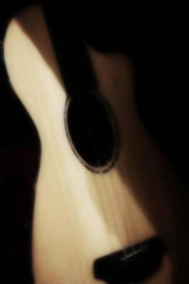 Guitar Photograph - Nostalgia by The Art Of Marilyn Ridoutt-Greene