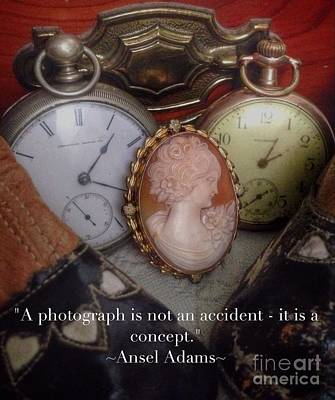 Photograph - Nostalgia Quote by Susan Garren