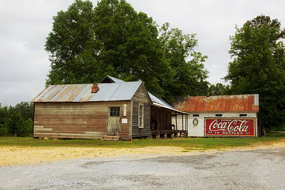 Nostalgic Corner - Alabama Print by Mountain Dreams