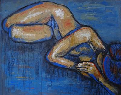 Nostalgic - Female Nude Original by Carmen Tyrrell