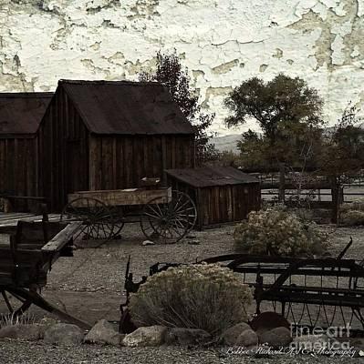 Photograph - Nostalgic Nevada  by Bobbee Rickard