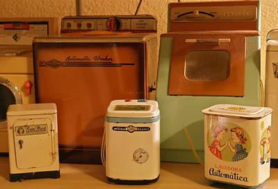 Photograph - Nostalgic Tin Toy Washers by Michele Myers
