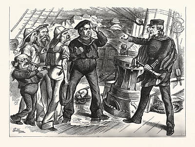Not A Fit Party To Trust. U. S. Grant, August 28 Art Print by American School