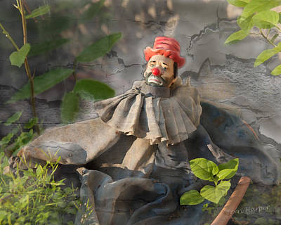 Photograph - Not A Happy Clown by Terri Harper