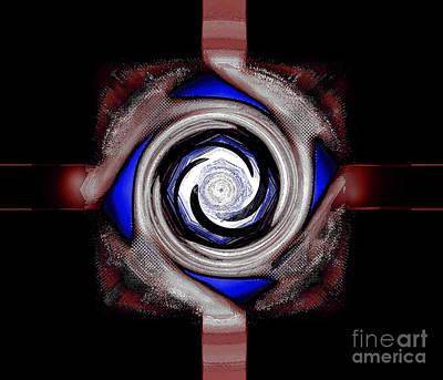 Test Pattern Digital Art - Not A Test by Joe Russell