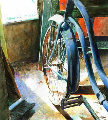 Transportation Paintings - Not Forgotten by Andrew King