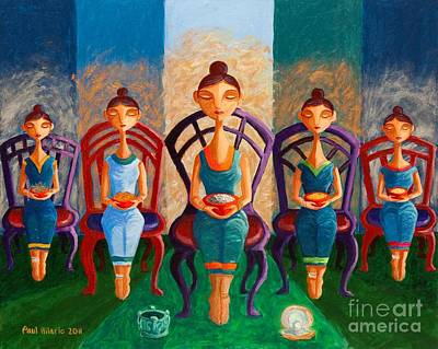 Philippine Art Painting - Not Jade Or Pearls by Paul Hilario