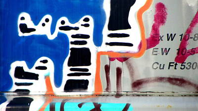 Photograph - Not My Best Graffiti 3 by Anita Burgermeister