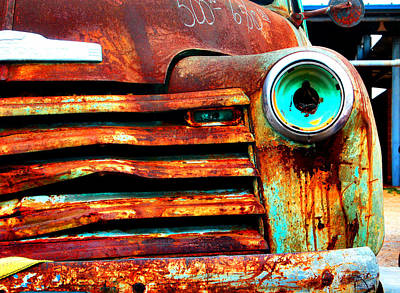 Antique Automobiles Photograph - Not Quite Road Ready by Toni Hopper