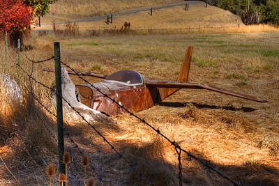 Old Country Roads Photograph - Not Ready For Takeoff by Kandy Hurley