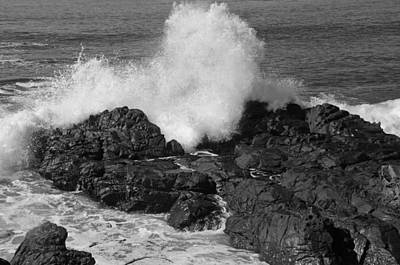 Photograph - Not So Pacific by Paul Miller