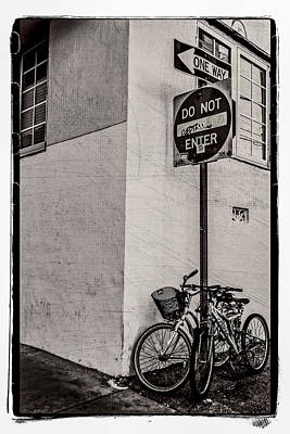 Photograph - Not That Way by Melinda Ledsome