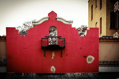 Photograph - Not The Alamo by Melinda Ledsome