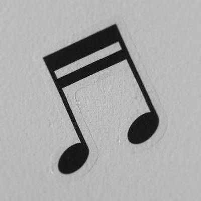 Musical Photograph - Nota Musical/musical Note. #note #like by Agustin Visconti