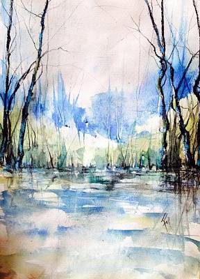 Nothing But Blue Skies...coming Our Way Art Print by Robin Miller-Bookhout