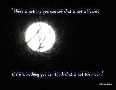 Nothing But The Moon Art Print by Paula Tohline Calhoun