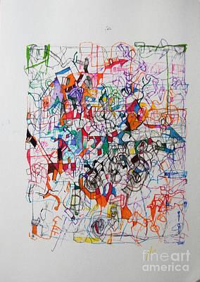 Nothing Left But Prayer Art Print by David Baruch Wolk