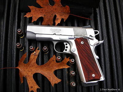 Photograph - Nothing Like A 1911 by Paul Mashburn