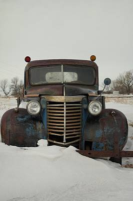 Old Trucks Photograph - Nothing Like An Old Truck by Jeff Swan