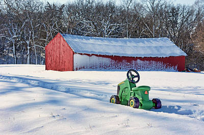 Papillion Photograph - Nothing Runs Like A Deere #1 by Nikolyn McDonald