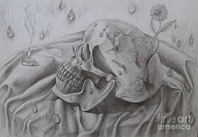 Drawing - Nothing Still About Life by Iglika Milcheva-Godfrey