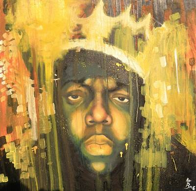 Painting - Notorious B.i.g. by Matt Burke