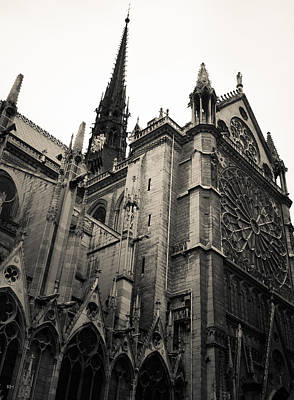 Notre Dame - For Eugene Atget Art Print