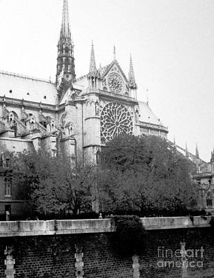 Photograph - Notre Dame . Paris France by Patricia Januszkiewicz