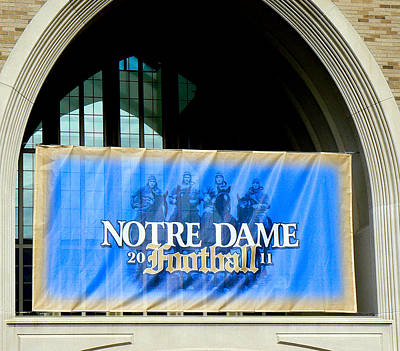 Photograph - Notre Dame 2011 by Connie Dye