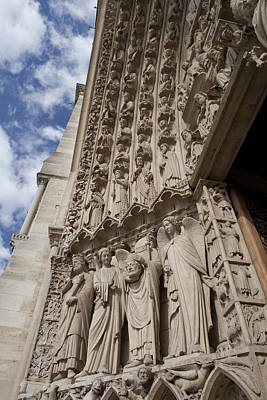 Notre Dame 3 Art Print by Art Ferrier