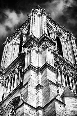 Photograph - Notre Dame Angles by John Rizzuto