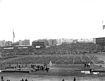 Yankee Stadium Photograph - Notre Dame-army Football Game by Underwood Archives