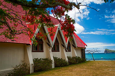 Photograph - Notre Dame Auxiliatrice. Mauritius by Jenny Rainbow