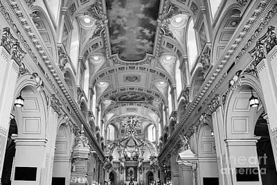 Notre-dame Basilica Art Print