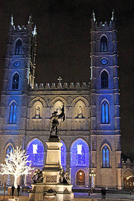 Photograph - Notre-dame Basilica Of Montreal by Munir Alawi