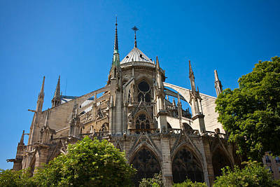 Photograph - Notre Dame Cathedral by Anthony Doudt