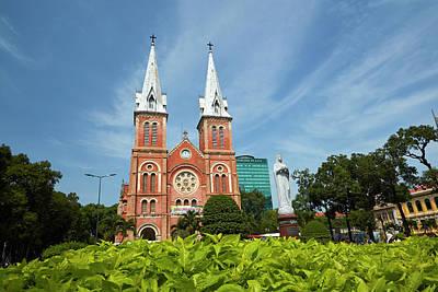 Ho Chi Minh City Photograph - Notre-dame Cathedral Basilica by David Wall