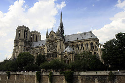 Photograph - Notre Dame Cathedral by Gladys Turner Scheytt