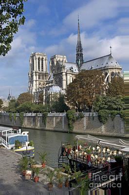 Notre Dame Cathedral. Paris Art Print by Bernard Jaubert
